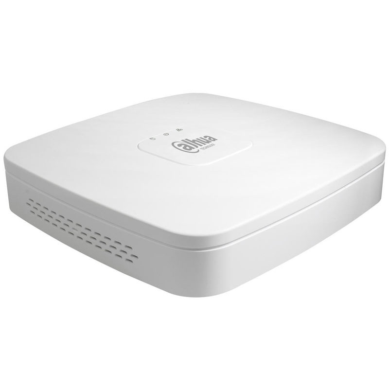 Купить 8-канальный PОE видеорегистратор  в металлическом  корпусе DH-NVR2108HS-8P-S2