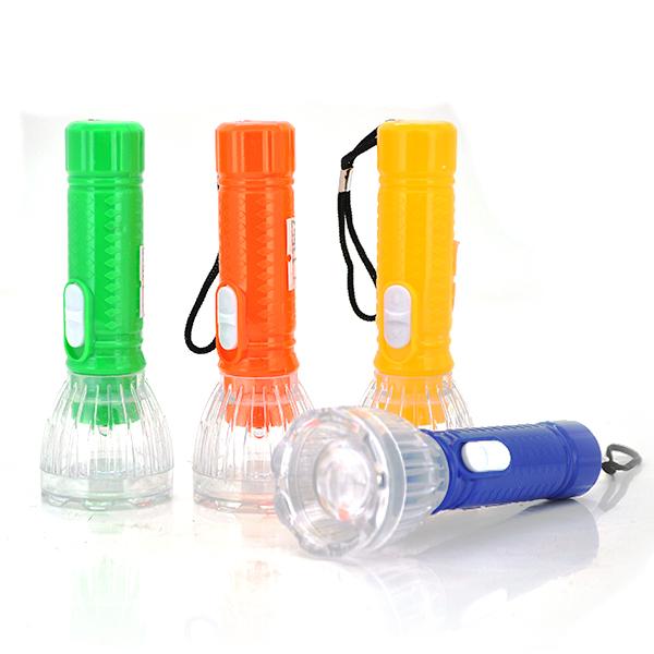 Купить Карманный фонарик A544, 1LED, 1 режим,корпус - пластик, питание 3*LR41, Yellow, ОЕМ