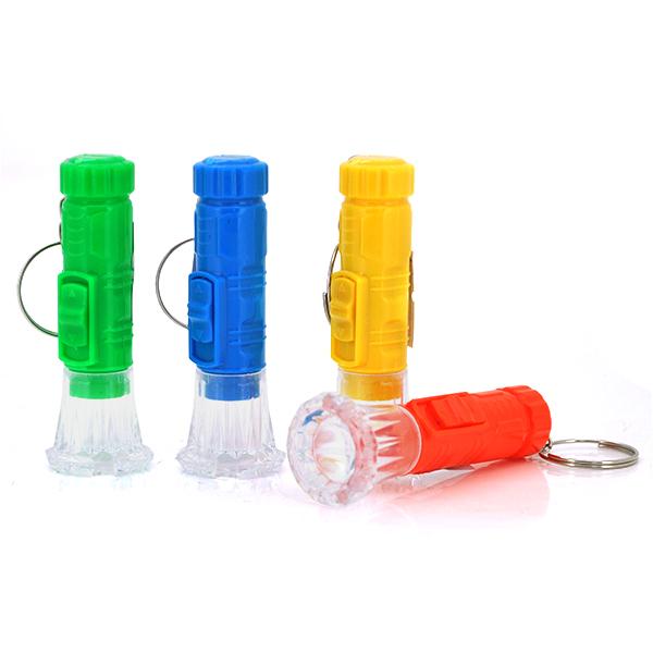 Купить Карманный фонарик A072, 1LED, 1 режим, корпус - пластик, питание 3*LR41, Yellow, ОЕМ