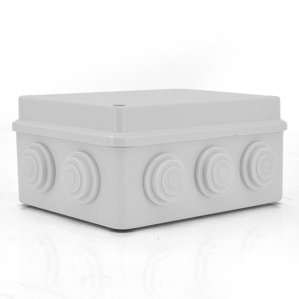 Купить Коробка распределительная наружная 130x130x80 IP55 цвет белый