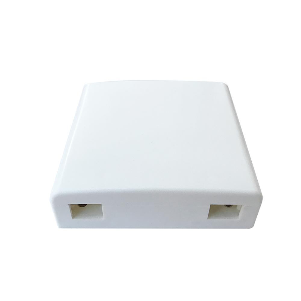 Купить Розетка оптическая для адаптера SC \/ UPC с двумя портами 86 х 86 мм, Q400