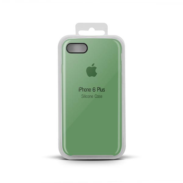 Купить Apple Silicone Case for iPhone X copy (1) green