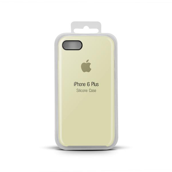 Купить Apple Silicone Case for iPhone X copy (10) cornsilk