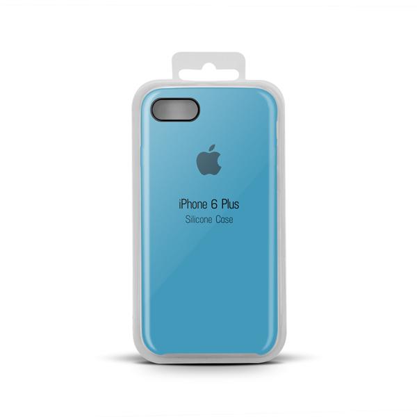 Купить Apple Silicone Case for iPhone X copy (16) azure