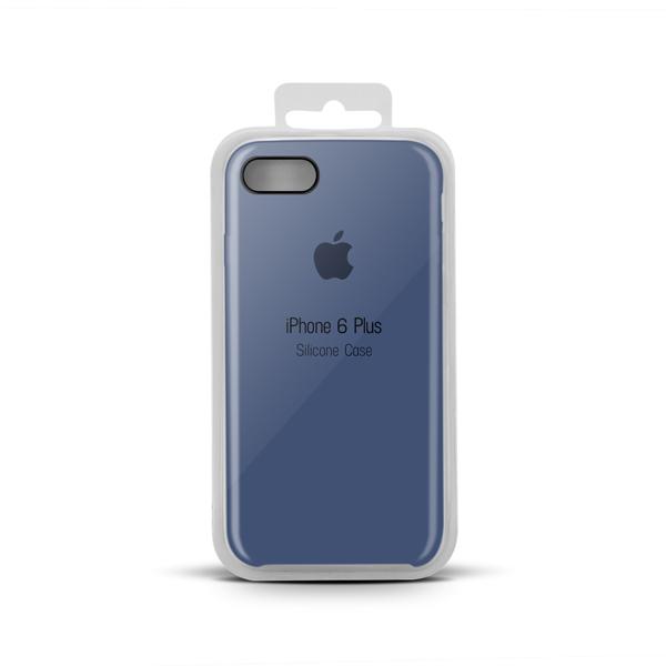 Купить Apple Silicone Case for iPhone X copy (20) navy blue