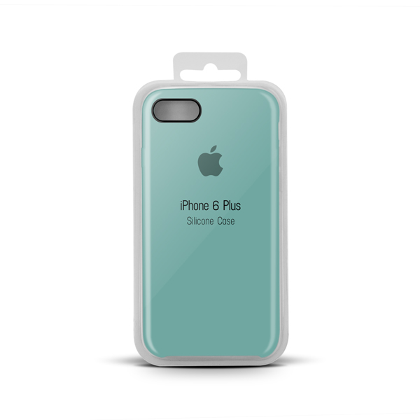 Купить Apple Silicone Case for iPhone X copy (21) sea blue