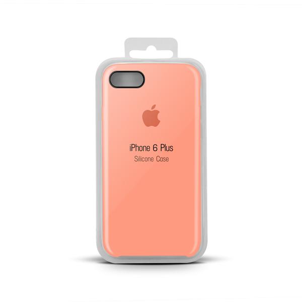 Купить Apple Silicone Case for iPhone X copy (27) salmon