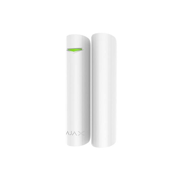 Купить Беспроводной датчик открытия двери \/ окна с сенсором удара и наклона Ajax DoorProtectPlus white