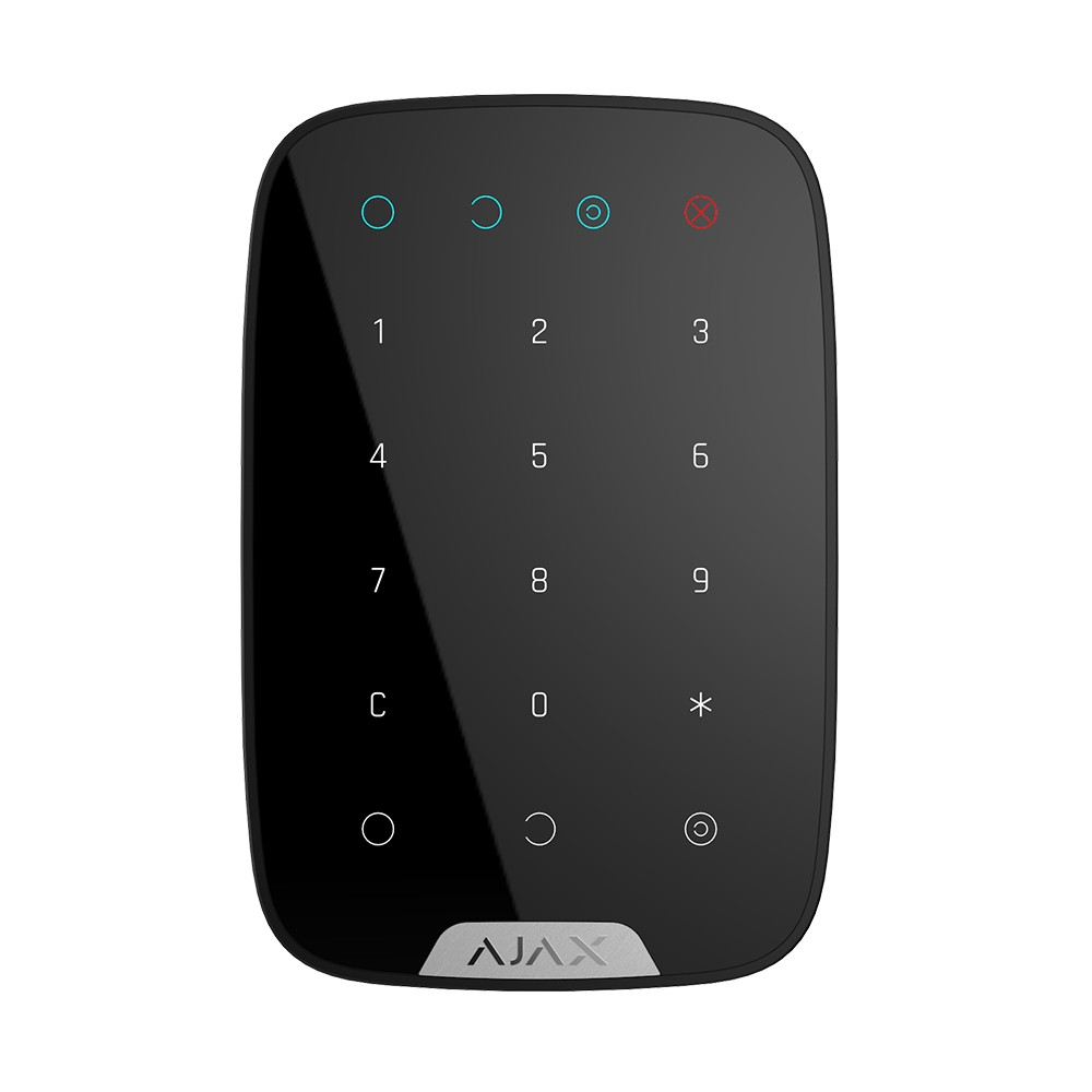 Купить Беспроводная сенсорная клавиатура Ajax KeyPad black