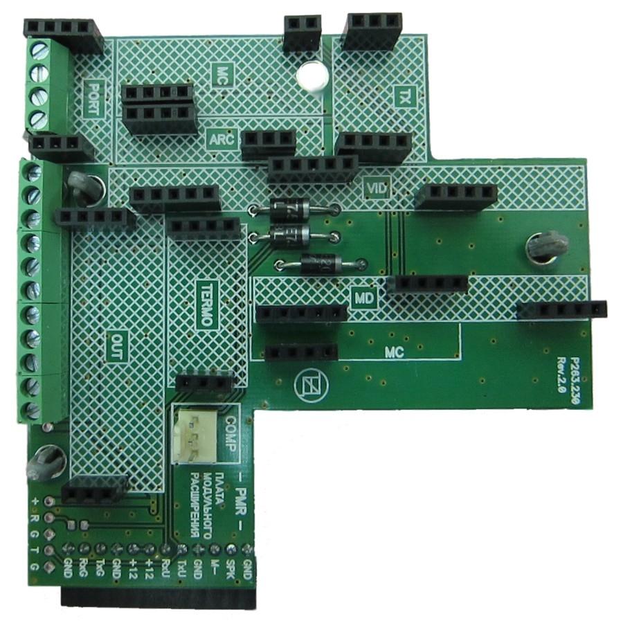 """Купить PMR-Universal плата модульного расширения к """"GSM-Universal"""""""