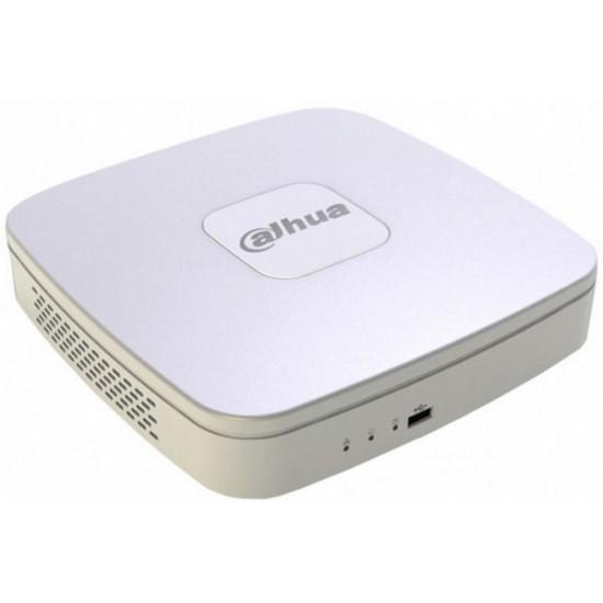 Купить 4-канальный AHD/HDCVI/HDTVI/АНАЛОГ/IP  видеорегистратор DH-XVR7104H