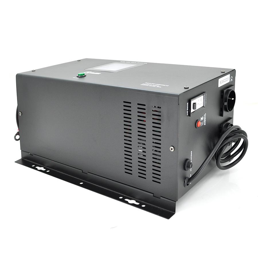 Купить ИБП с правильной синусоидой Europower PSW-EP1500WM12 (1050 Вт) 10 \/ 20А, настенный, под внешнюю АКБ 12В , Q1 (530*335*305) 12,26 кг (418*222 (258)*192)