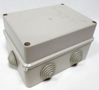 Купить Коробка распределительная наружная 130x130x63 IP55 цвет белый