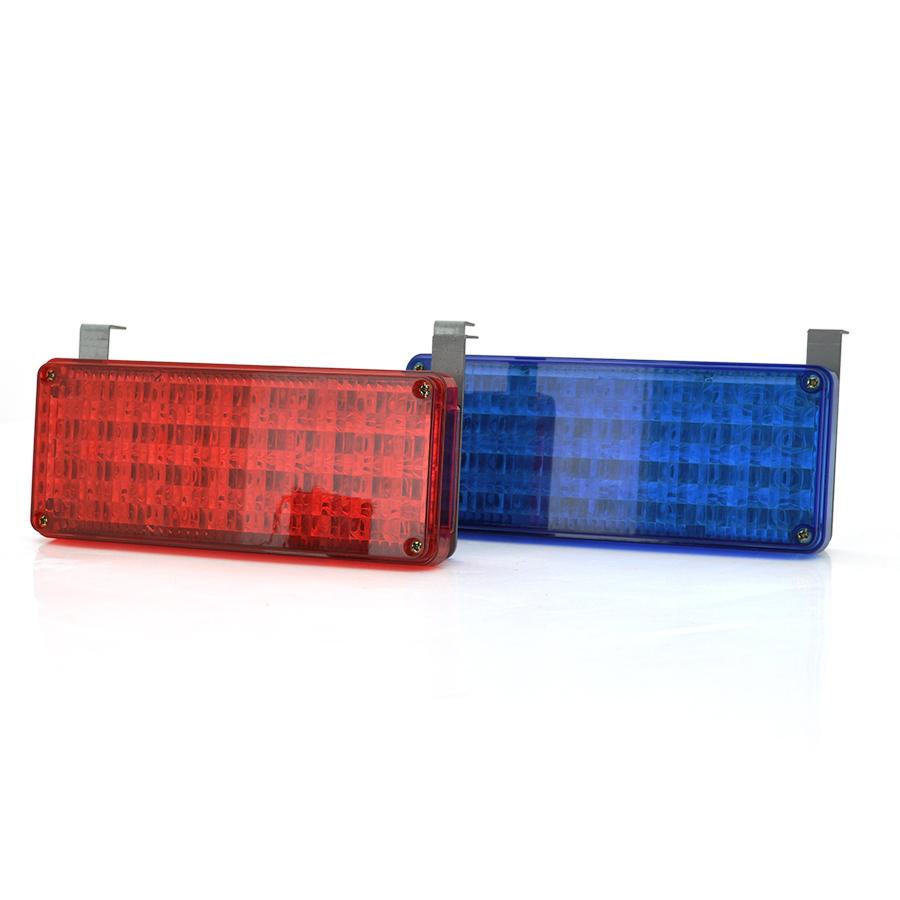 Купить Сирена 168 LED проблесковые маячки 12В (192*125*92) 0,49 кг