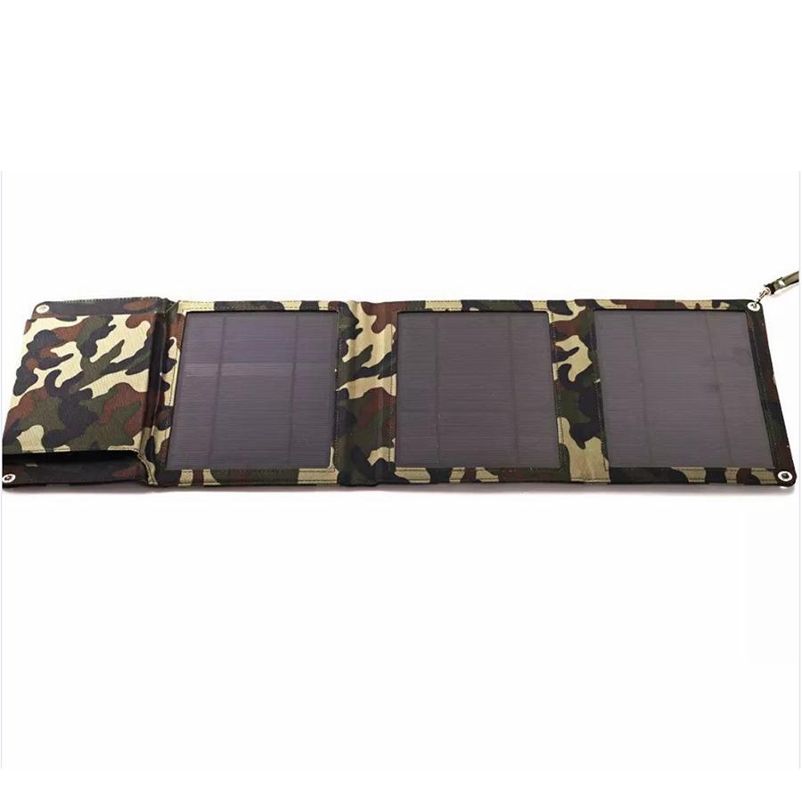 Купить Power bank 5000 mAh Solar, (5V/200mA), 2xUSB, 5V/1A/1A, USB  microUSB, влаго/ударо защищеный прорезиненный корпус, карабин, Khaki, Corton BOX