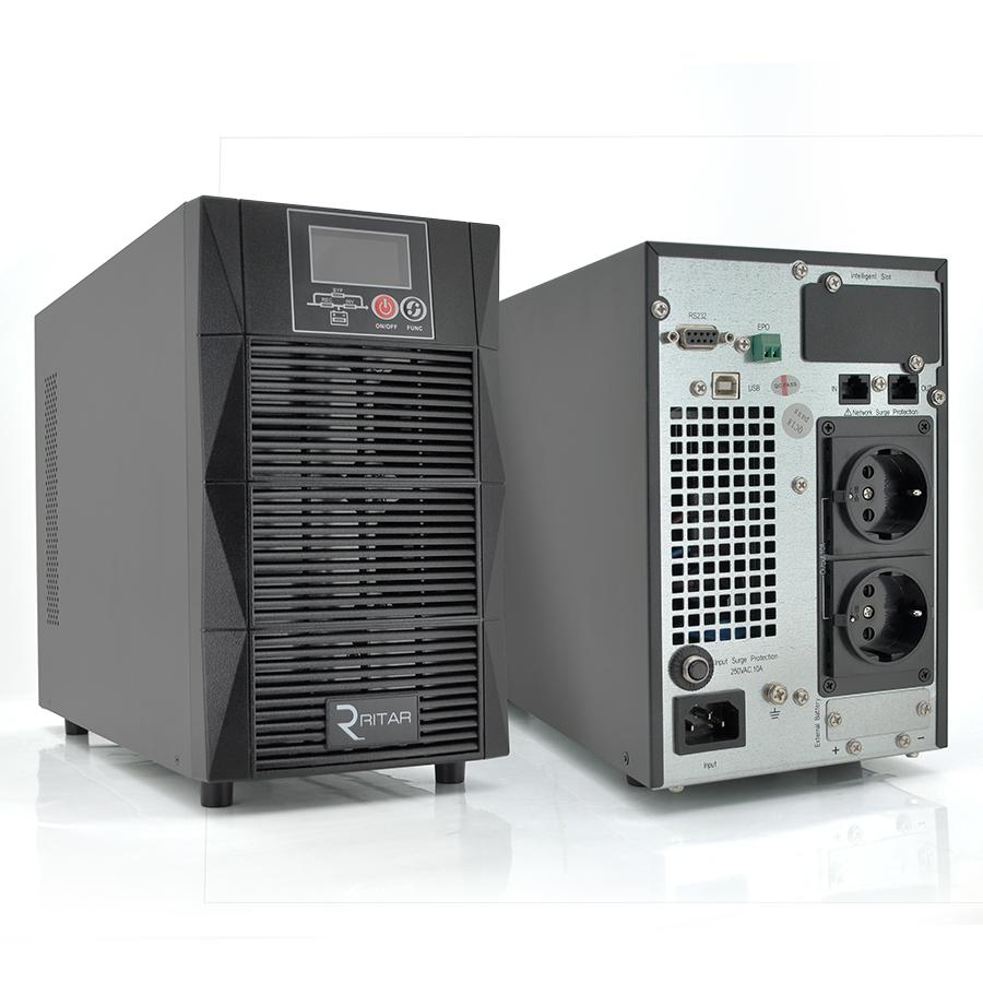 Купить ИБП On-Line Ritar HT1103S 3KVA \/ 2.7kW 96В, Встроенная батарея 12V 7 Ah х 8 шт (521*280*420) 29,3 кг (417*89*320)