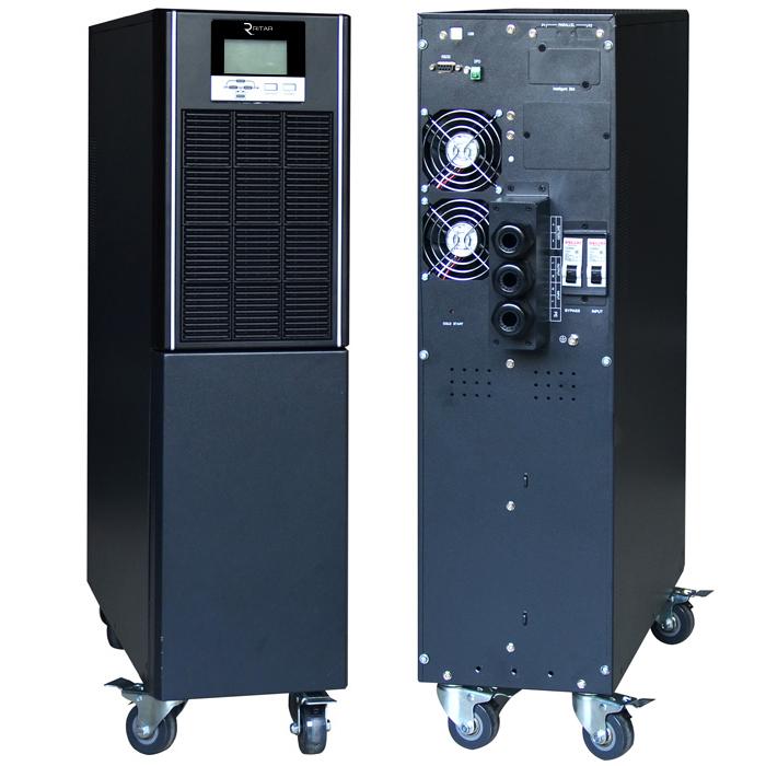 Купить ИБП On-Line Ritar HT1110XS 10KVA \/ 10kW 192В, Встроенная батарея 12V 9 Ah х 16 шт (665*330*890) 73,9 кг(515*190*700)