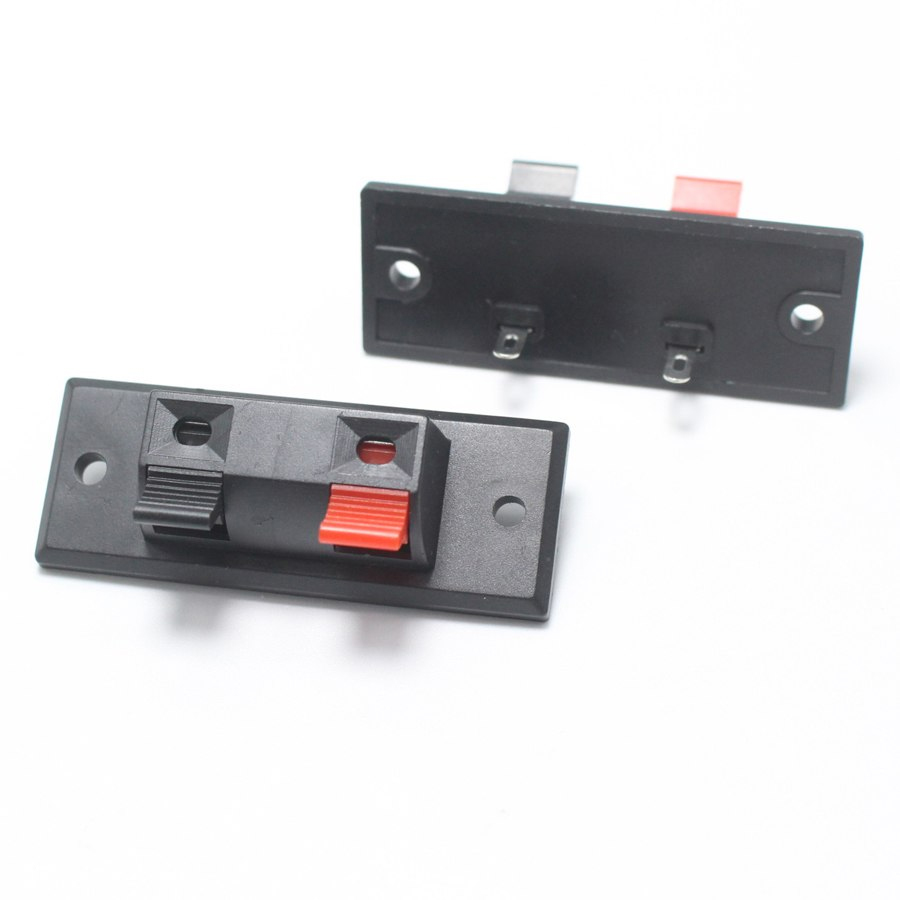 Купить Зажим 2-pin JR6251A для динамика размер панели 45 x 21 мм