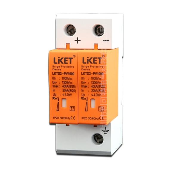 Купить Фотогальваническая защита от перенапряжения постоянного тока LKTD2 - PV1000, 40kA