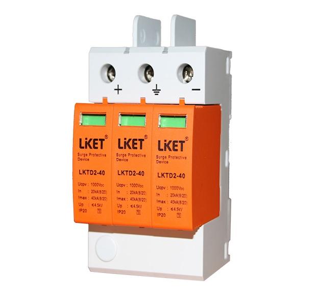 Купить Фотогальваническая защита от перенапряжения постоянного тока LKTD2 - 40, 40kA с телеуправлением