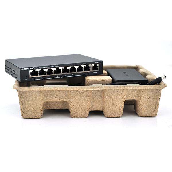 Купить Коммутатор POE Mercury S109PS 9 портов Ethernet 10/100 Мбит/сек, БП в комплекте, BOX Q200