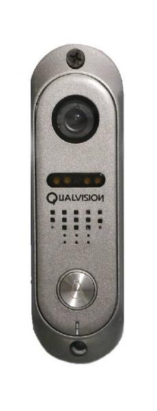 Купить Вызывная панель Qualvision QV-ODS420SV цвет серый (угол обзора камеры 120В° по горизонтали)