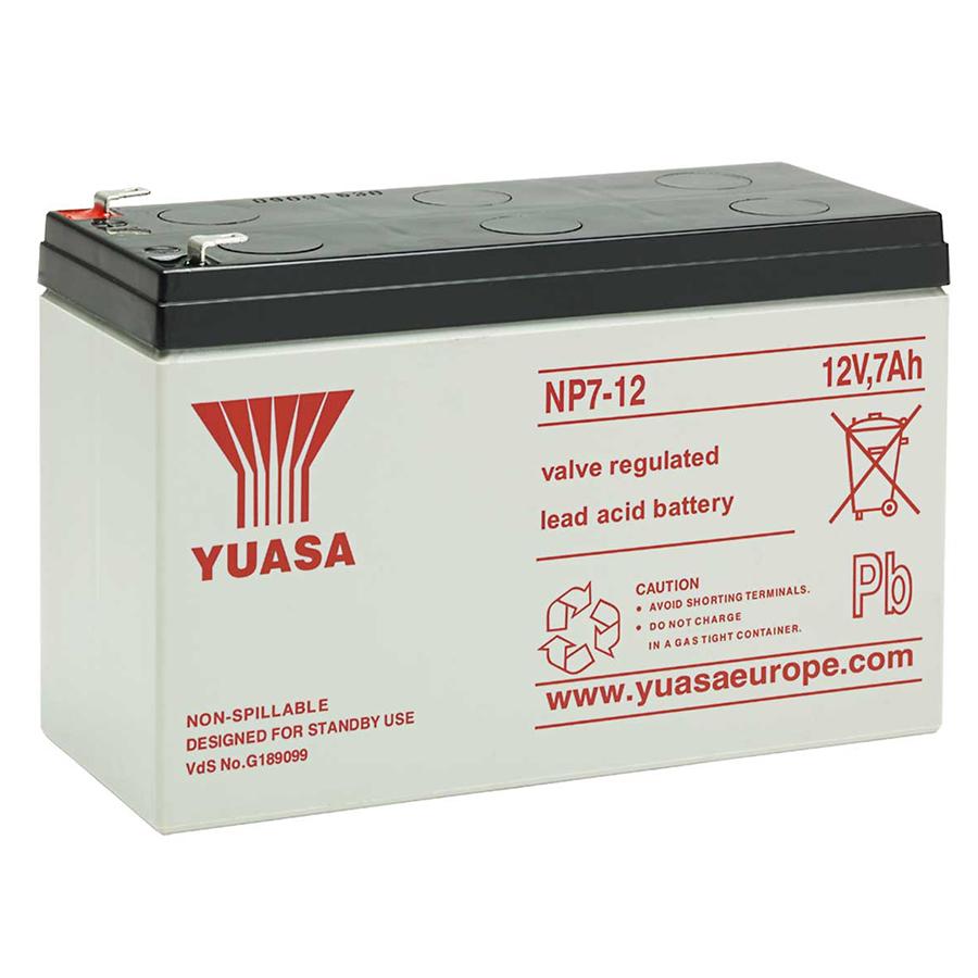 Купить Аккумуляторная Батарея для ИБП Yuasa NP7-12 12V 7Ah ( 151 x 65 x 94)  Q10