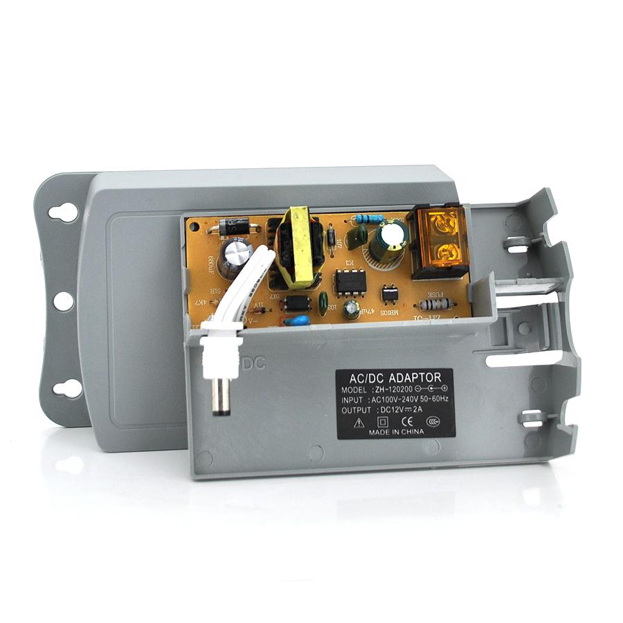 Купить Импульсный адаптер питания YOSO ZH120200 12В 2А  штекер 5,5/2,5 настенный