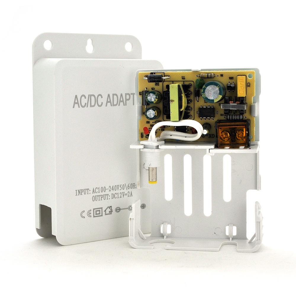 Купить Импульсный адаптер питания YOSO ZH12V 12В 2А  штекер 5,5/2,5 настенный
