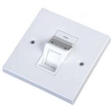 Купить Розетка оптическая накладная для адаптера SC \/ UPC с одним портом 86 х 86 мм