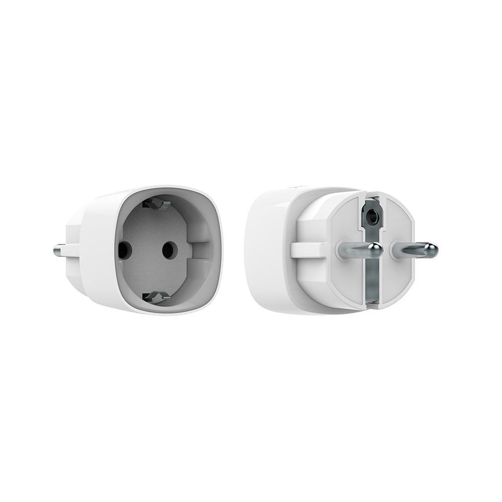 Купить Радиоуправляемая умная розетка со счетчиком энергопотребления Ajax Socket белая