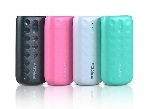 Купить Powerbank (18650) Proda Lovely PPL-2, 1xUSB, 5V, 2.1A, 5000mAh, Pink, Blister