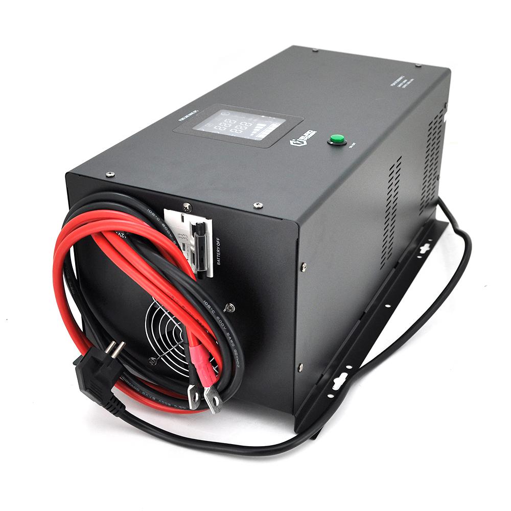 Купить ИБП с правильной синусоидой Europower PSW-EP2000WM12 (1400 Вт) 20А, настенный, под внешнюю АКБ 12В , Q1 595*345*335 15,8 кг