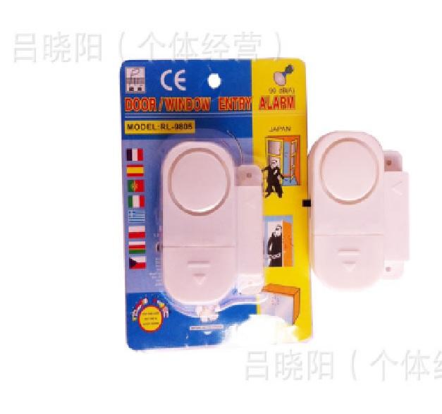 Купить Датчик магнитоконтакный RL-9805, White, питание  3 Г— 1.5V LR44