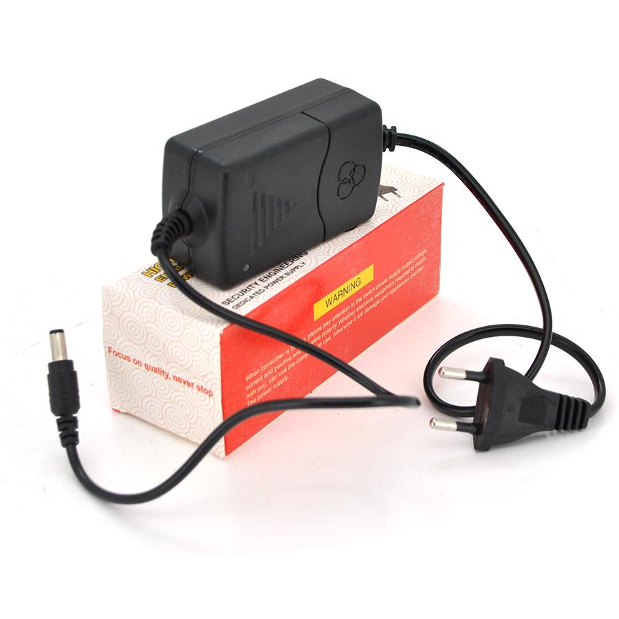 Купить Импульсный адаптер питания 12В 1А (12Вт) YOSO ZH01201000 штекер 5.5 \/ 2.1 (BIG) длина 0,9м + переходник 5,5 \/ 2,5