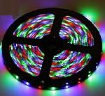Купить Лента Светодиодная в силиконе 3528, (60 светодиодов) 5 метров катушка Blue
