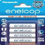 Купить Аккумулятор AAA Panasonic Eneloop BK-4MCСE/4BE, AAA/(HR03), 750mAh, Ni-MH, блистер 4шт, цена блистер