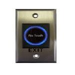 Купить Кнопка выхода сенсорная, врезная, NO/NC/C, нержавейка, диодная подсветка кнопки выхода, DC 12V