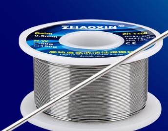 Купить Припой Zhaoxin ZH-TB100 диаметром 1,0 мм , состав: Sn 63%. Pb 37% Flux 1.8% Вес 50 гр