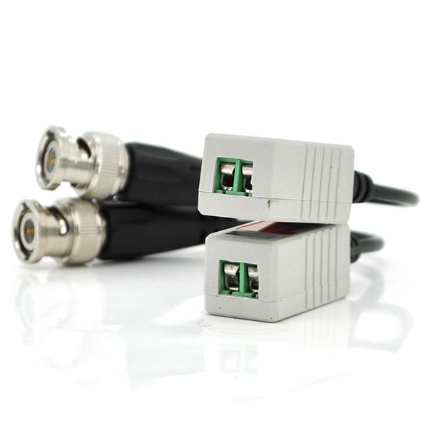Купить Пассивный приемопередатчик видеосигнала 202H AHD/CVI/TVI, 720P/1080P - 400/200 метров, цена за пару, Q100