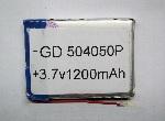 Купить Литий-полимерный аккумулятор 5*40*50mm (1200mAh 3,7V)