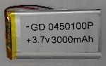 Купить Литий-полимерный аккумулятор 4*35*65mm (1200mAh 3,7V)