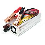 Купить Инвертор напряжения N/N 1000, 600Вт, 12/220 с аппроксимированной синусоидой, зарядка аккумулятора 5А, 1 евророзетка, клемы + провода