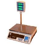 Купить Весы торговые электронные NA-501 (40кг) со стойкой и счетчиком цены