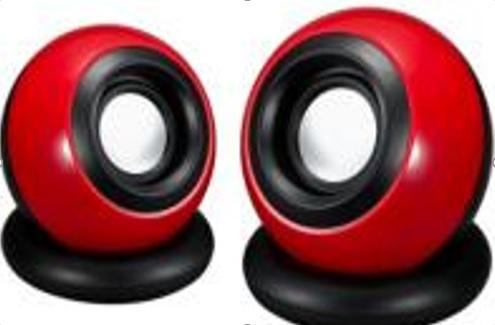 Купить Колонки 2.0 JEDEL SD-018 USB+3.5mm, 2x3W, 90Hz- 20KHz, с регулятором громкости, Black/Green, BOX, Q50
