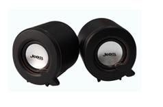Купить Колонки 2.0 JEDEL JD-S617/G101A USB+3.5mm, 2x3W, 90Hz- 20KHz, с регулятором громкости, Black, BOX, Q72