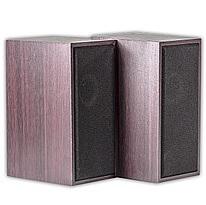 Купить Колонки 2.0 JEDEL JD-A60/M-08 USB+3.5mm, 2x3W, 90Hz- 20KHz, с регулятором громкости, Brown, BOX
