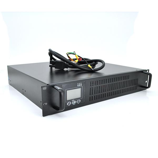 Купить ИБП с правильной синусоидой ONLINE RT-3KL-LCD, REC 3000VA (2100Вт), 96В, под внешний АКБ, (610*605*220) 13,4 кг (480*420*90)