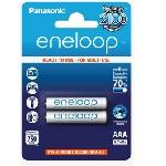 Купить Аккумулятор AAA Panasonic Eneloop Lite BK-4LCCE/4BE, AAA/(HR03), 550mAh, LSD Ni-MH, блистер 4шт, цена за уп., Japan