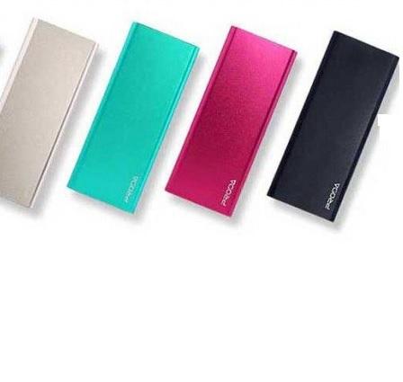 Купить Powerbank (Polymer Battery) Proda Vanguard RP-V12, 1xUSB, 5V, 1.5A, 12000mAh, Pink, Blister